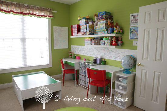 64 Best Homeschool Rooms Images On Pinterest