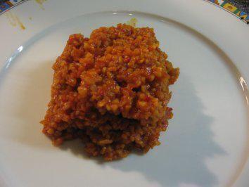 Das perfekte Bulgur Pilaw-Reis (schnelle Beilage) mal was anderes!-Rezept mit einfacher Schritt-für-Schritt-Anleitung: Die Zwiebel fein hacken und den…