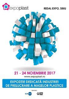 În perioadă 21 – 24 noiembrie, liderii industriei vin la Sibiu pentru EXPO PLAST –