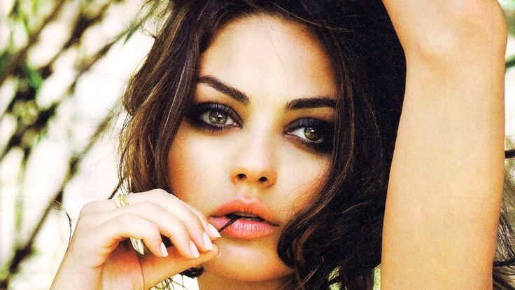 New Mila Kunis Beautiful Eyes -     I've always had an aversion to looking sexy, but I've grown out of it.-Kristen Stewart