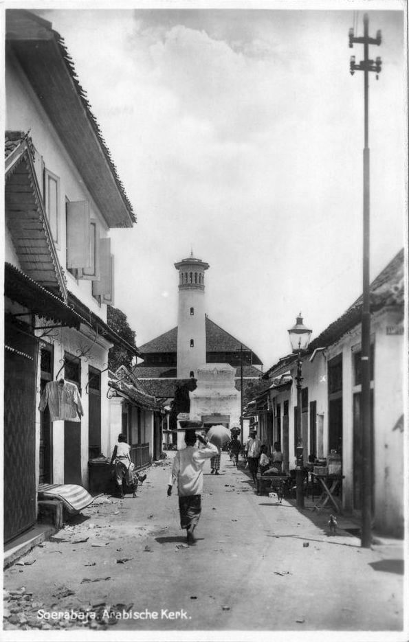 old-indische: Apotek Glodok ~ Jakarta ~ Indonesia (1930)