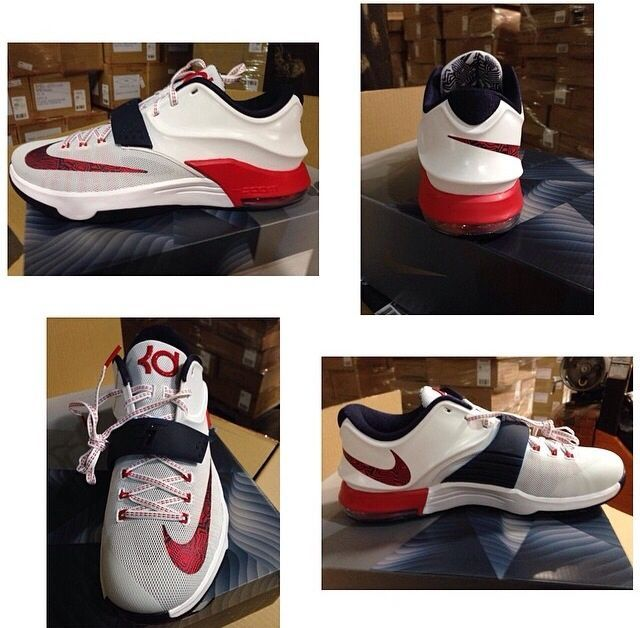 KD VII 7 - Nike - Kevin Durrant USA: Shoe Games, Kevin Durrant, Kd Shoes, Mall Topkobe9Low, Durrant Usa, Kd Vii, Nike