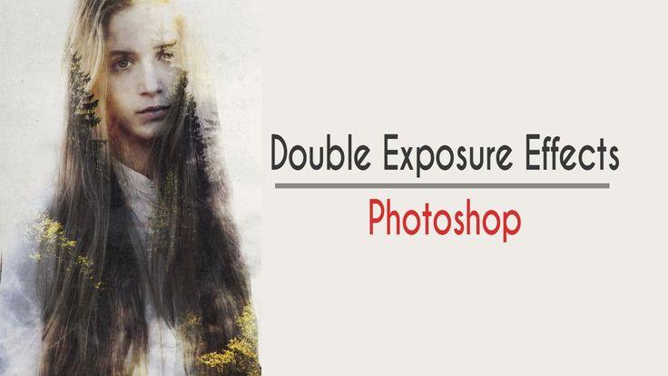 speed art-Double Exposure Effect photoshop -Эффект двойной экспозиции