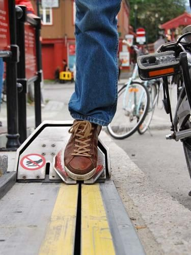Can't Handle The Steep Hill? Take A Ride On This Bike Elevator The Cyclo Cable, a simple motorized lift for cyclists in Norway, makes it easy to get your bike up an intimidating hill.