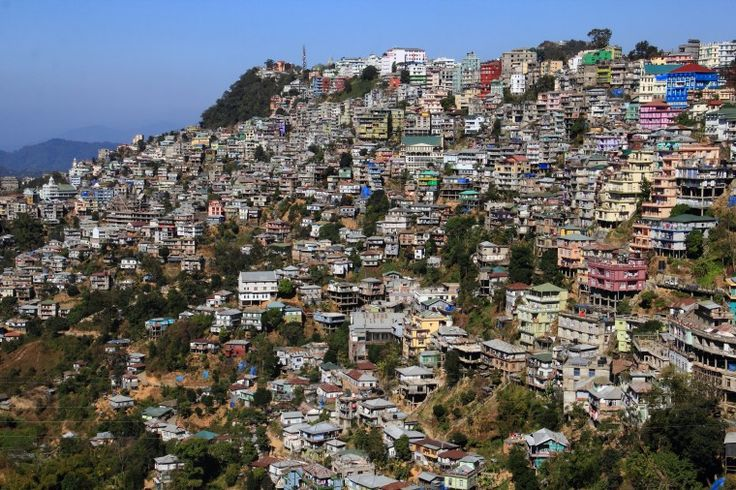 The soul of NorthEast India – Aizwal,Mizoram,India.