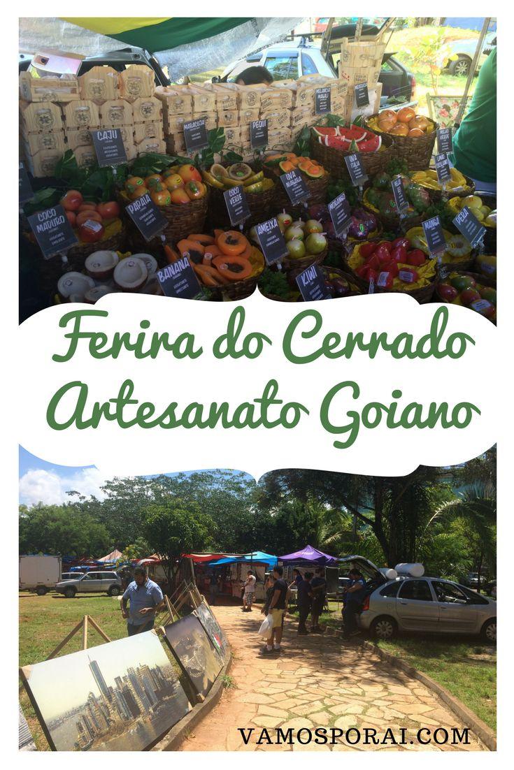 A feira do cerrado é a melhor feira de artesanato de Goiânia. Ela funciona todos os domingos de manhã.