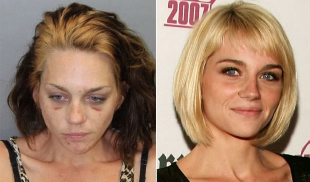 Renee Alway: America's Next Top Model finalist appears battered and bruised in new mugshot