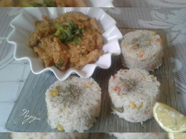 Nandos Chicken Strips N Savoury Rice