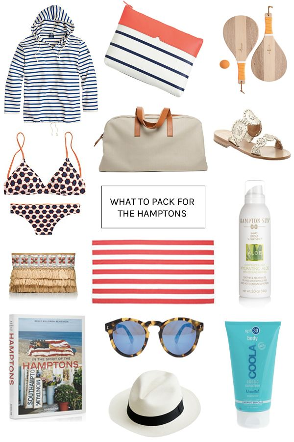 What To Pack For A Weekend In Montauk