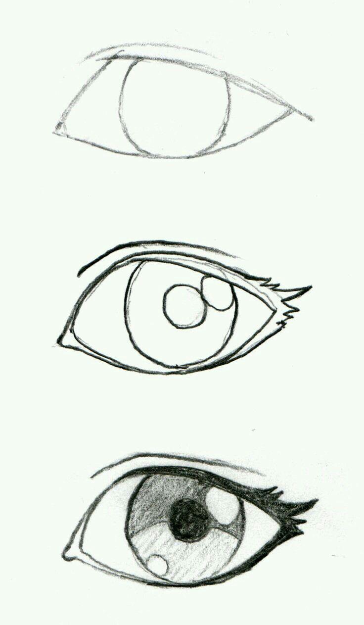 картинки глаз рисовать легко единственное, что осталось