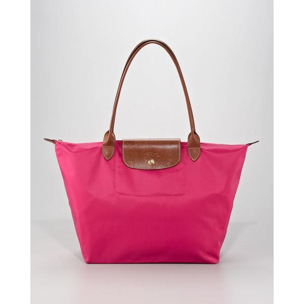 Longchamp Le Pliage Shoulder Tote, want one!