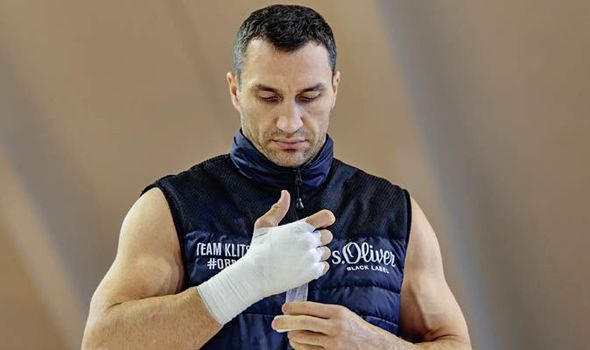 Wladimir Klitschko compares himself to Mount Everest ahead of Anthony Joshua clash
