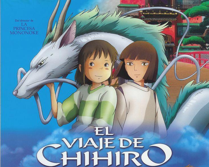 """""""El viaje de Chihiro"""" Considerada una de las mejores películas animadas de todos los tiempos"""