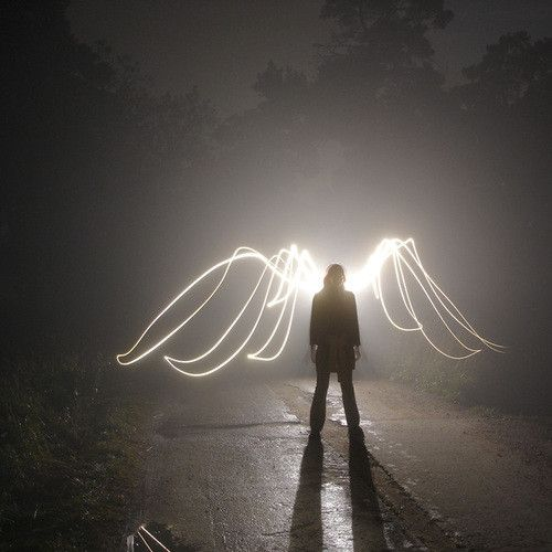 Light: Radiant; I chose this for radiant because the shadow and the reaction the light 'wings' give off