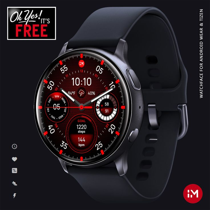 Inmotion carbon free facer the worlds largest watch
