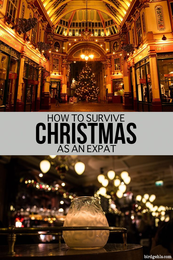 Spending the silly season in a new country or city can be a fun affair. Here are some ideas to help you survive Christmas as an #expat. #TravelTips  via @birdgehls