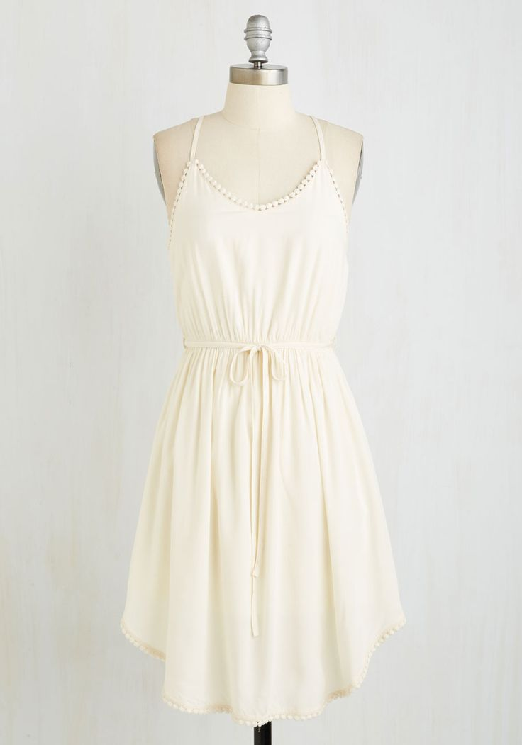 Dresses - Right to Delight Dress in Pearl