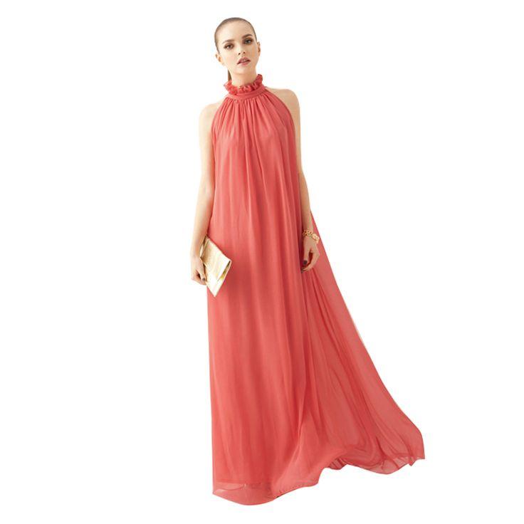 2016 Hot Pink Elegante Verano de Las Mujeres Fuera Del Hombro Vestido de La Colmena de cuello alto de Gran Tamaño Vestido de Boho Vestido Largo Maxi Vestidos De Playa en Vestidos de Ropa y Accesorios de las mujeres en AliExpress.com   Alibaba Group