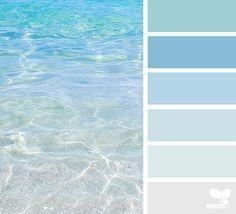 Soothing ocean colors