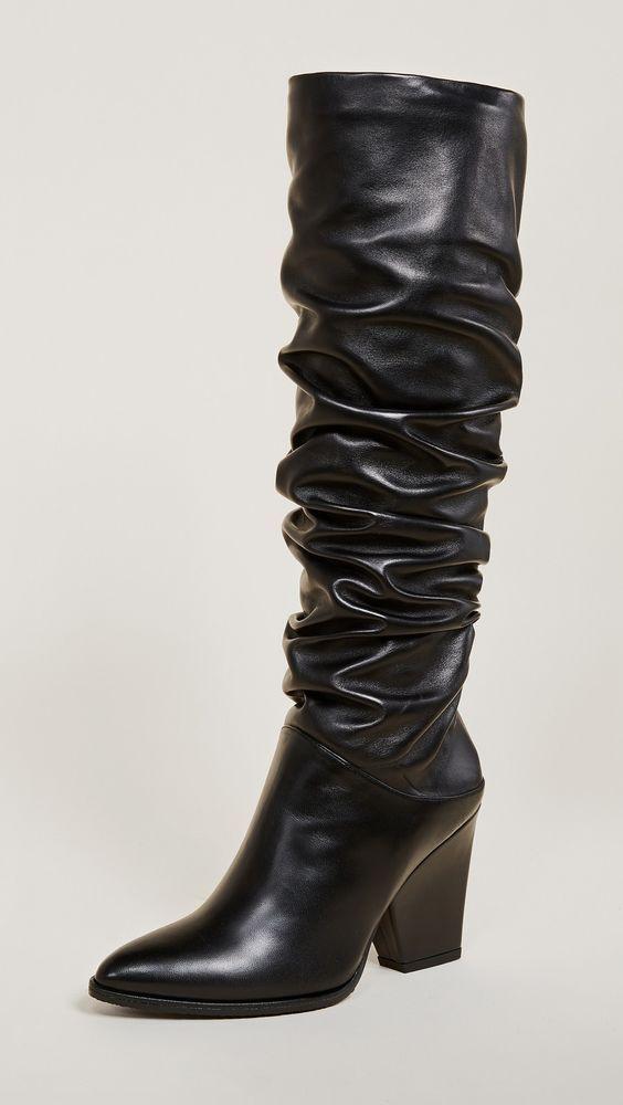 b9f9ce91d80 NEW Stuart Weitzman Smashing Knee High Boot Shoe, Black Leather ...
