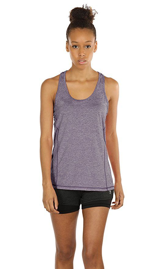 d4adcc116c icyzone Activewear Running Workout Clothes Yoga Racerback Tank Tops for  Women: Amazon.co.uk: Clothing