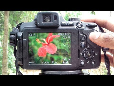 How to blur Background Nikon coolpix Camera B700 P1000 P900