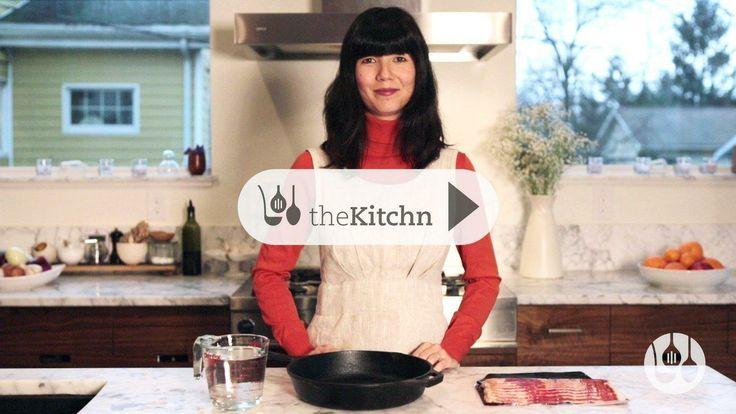 WATCH: A Surprising Tip for the Best Bacon (With Less Mess) Video Tips from The Kitchn
