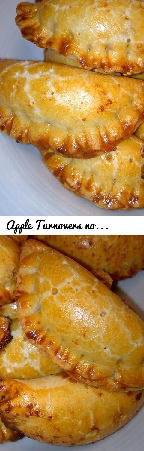 Apple Turnovers no Butter... Tags: no butter, without butter, apple, apples, almonds, shortcrust pastry, Empanadillas, apple turnovers, sem manteiga, apple turnovers recipe, apple turnover, apple turnover recipe, mini apple pies, turnovers, turnovers