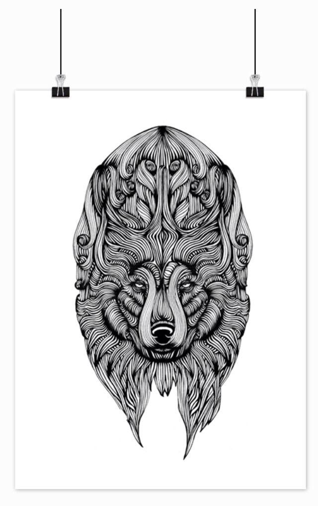 Illustration, 40x50 cm 250,- #design #art #graphic #drawing #decoration