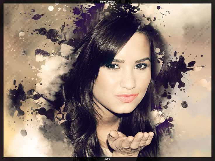 Demi Lovato Kissing Wallpapers