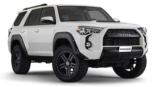 New Product Bushwacker Pocket Style Fender Flares For 2017 2016 Toyota 4runner Lund International Trd Pro Cars