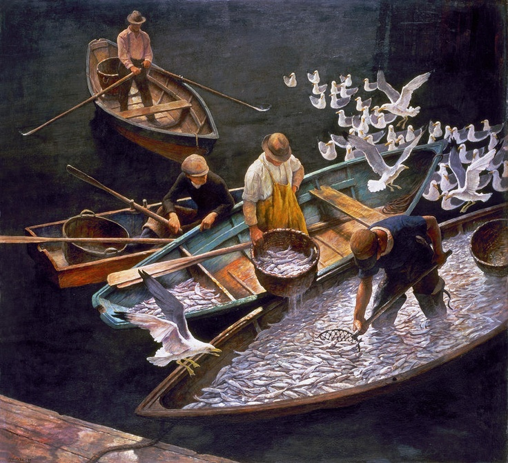 Fishermen by N. C. Wyeth