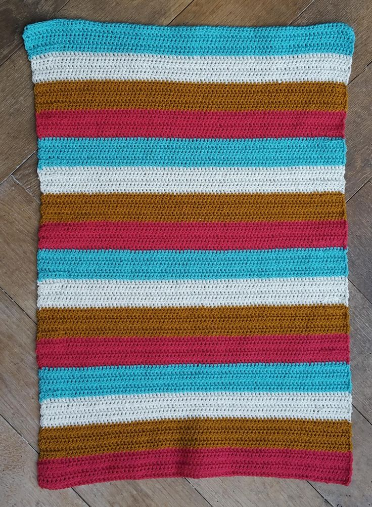 https://flic.kr/p/yYRCVh   15 Droomdekentje streep roze   A small crochet blanket 60x85cm. A hospital asked for this small size and I love it! It's more manageble and faster in finishing :-) It will be donated.