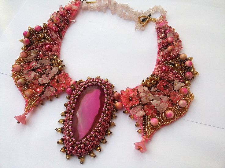 Necklace Pink Glamour