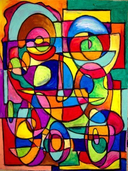 Picasso art art picasso 39 s smile by artist chris for Abstract art definition for kids