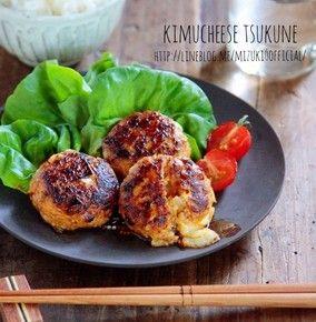 ♡超簡単モテレシピ♡豚キムチーズつくね♡【#簡単#節約#ひき肉#卵不使用】 レシピブログ