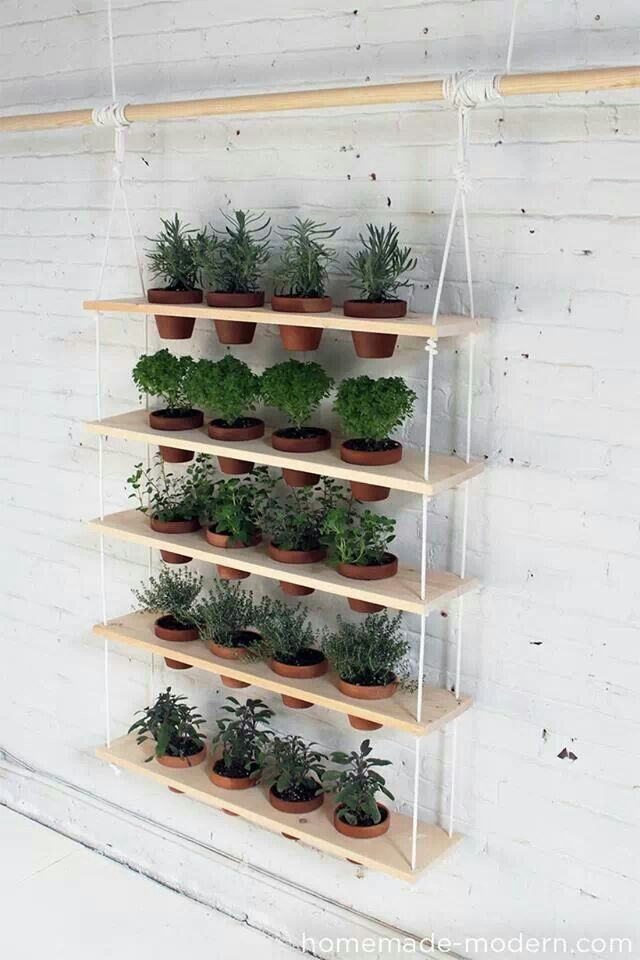 vertical gardening idea