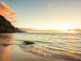 Na Pali Coast Sunset Wallpaper | Free Desktop Wallpapers