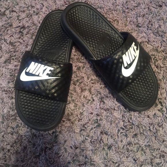 Nike sandals Slip on sandals Nike Shoes Sandals