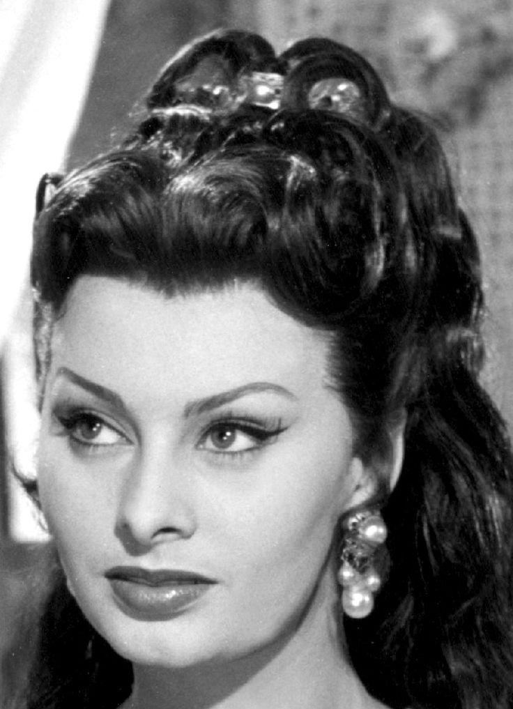 goldenageestate:  Sophia Loren ~ Attila, 1954