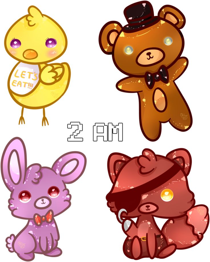 Five Nights At Freddys by Ambercatlucky2 on DeviantArt