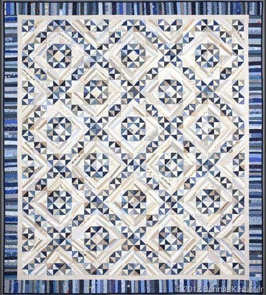 "Jamestown Landing 84""x 96"" by Bonnie Hunter: Quilts Patterns, Hunters Quilts, Jamestownland Quilts, Quilts Asylum, String Fling, Jamestownlandingfull1 Quiltvil, Bonnie Hunters, New Books, Jamestown Land"