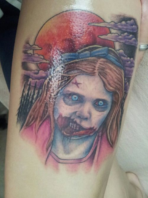 115 best images about the walking dead tattoos 2 on for Zombie tattoo machine