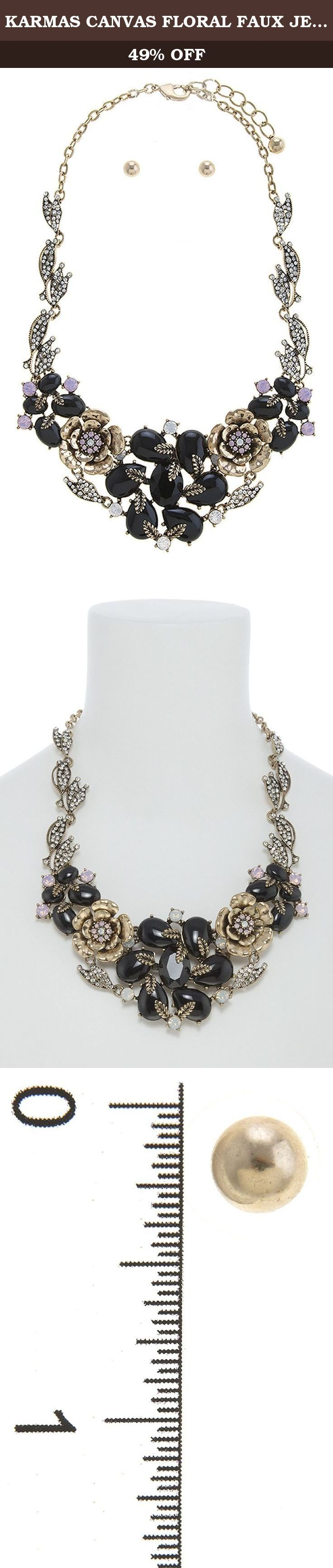 KARMAS CANVAS FLORAL FAUX JEWELED BIB NECKLACE SET. FASHION DESTINATION PRESENTS KARMAS CANVAS FLORAL FAUX JEWELED BIB NECKLACE SET. Buy brand-name Fashion Jewelry for everyday discount prices with Fashion Destination! Everyday LOW shipping *. Read product reviews on Fashion Necklaces, Fashion Bracelets, Fashion Earrings & more. Shop the Fashion Destination store for a wide selection of rings, bracelets, necklaces, earrings and diamond jewelry. Whether you are searching for men's jewelry...