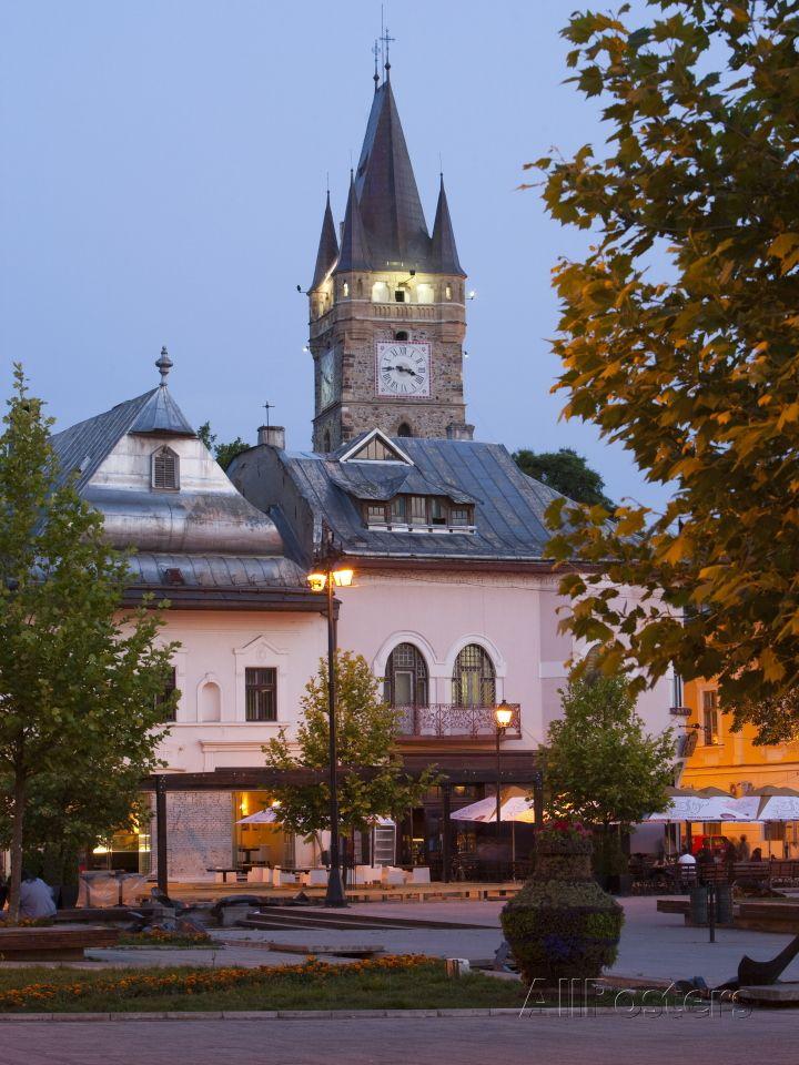 Stephen's Tower, Libertatii Square, Baia Mare, Maramures, Romania