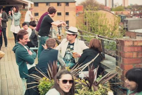 Dalston Roof Park - Roof Bar