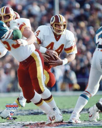washington redskins super bowl victories | John Riggins MVP Washington Redskins Super Bowl XVII (1983) Premium ...