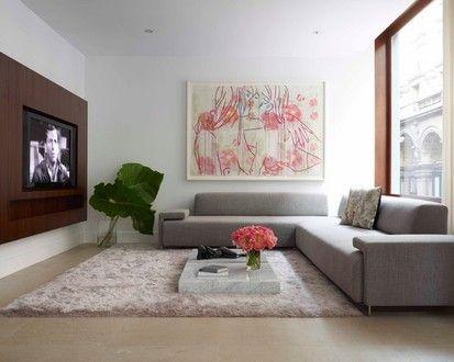 Fabulous Flat, Modern Media Room, New York