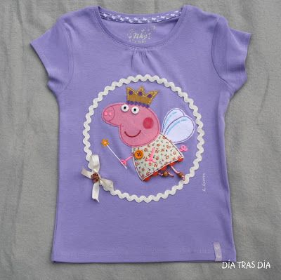 Peppa Pig T-Shirt for the birthday girl at a Peppa Pig Party