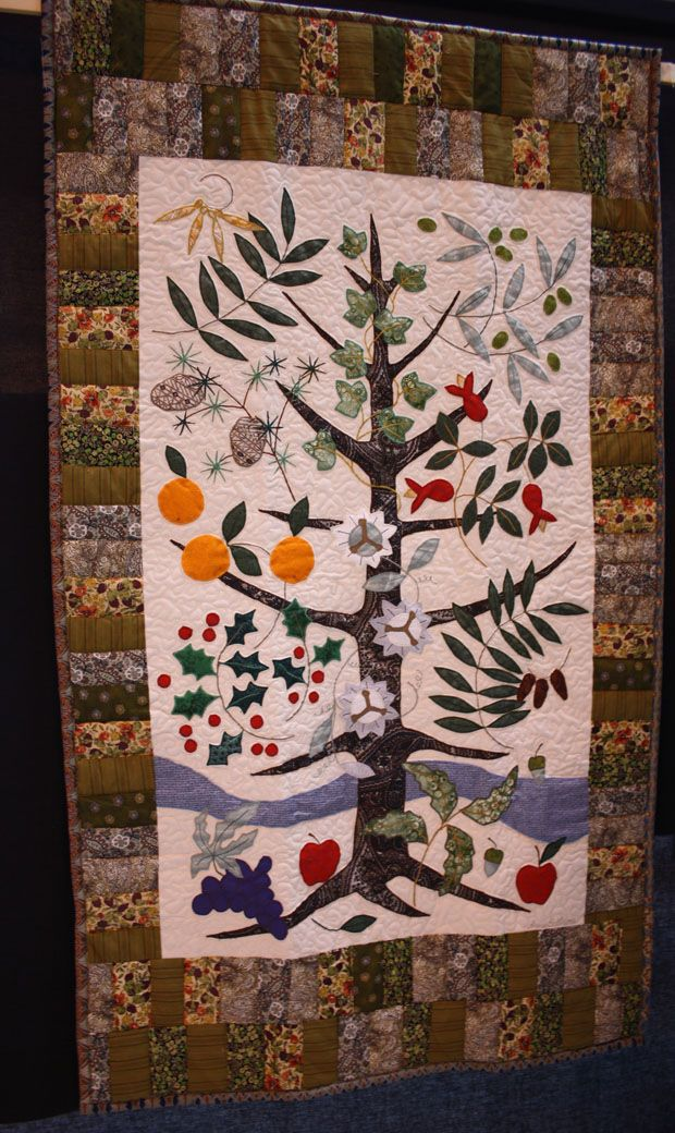 36 best images about TREE OF LIFE QUILTS on Pinterest Trees, A tree and Nancy dell olio